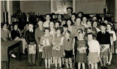 Sunday School Party 8/2/1957