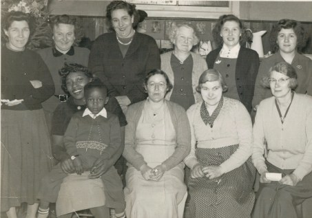 back cook,spooner,howell,woodhouse,mrs dock,miss dock.front Parker Tony,williamson,hastings,dewing
