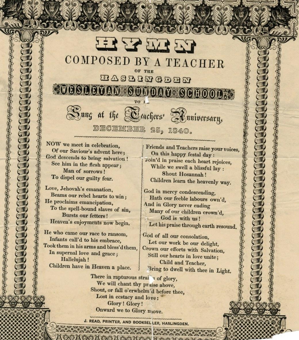 1840 Haslingden Hymn21092017