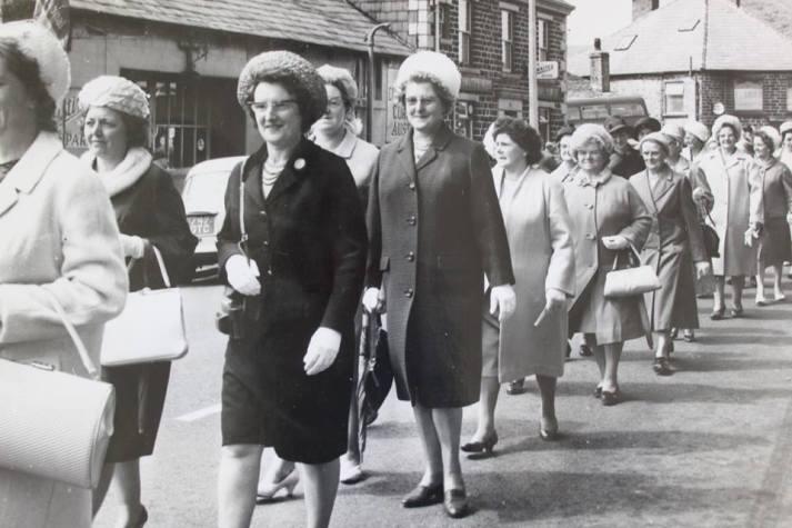 Walking day 1965