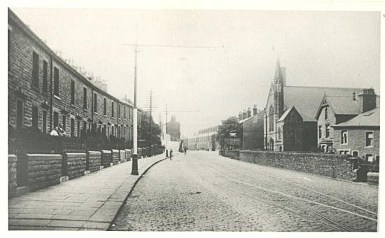 Wesley Meth Church and Blackburn Road