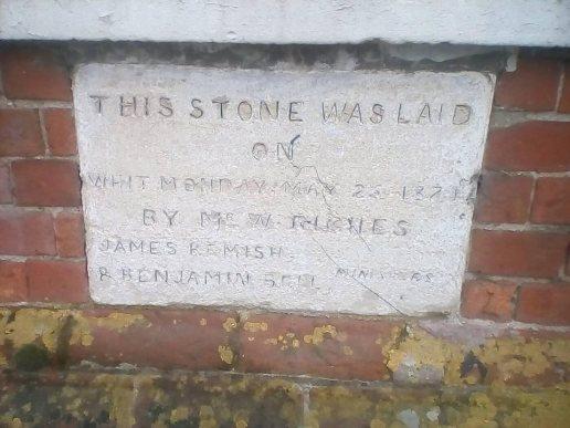 wighton Foundation Stone