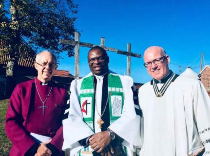 cliff with archbishop